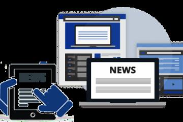 News Web Portal Development