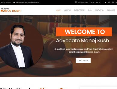Advocate Manoj Kush