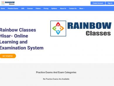 Rainbow Classes Hisar Online Exam Portal